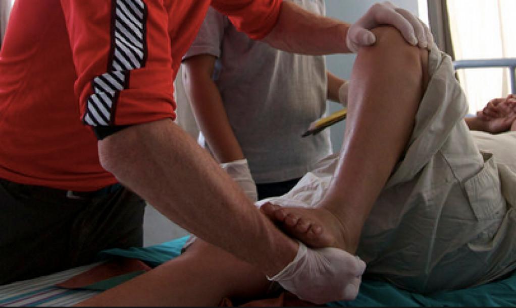 behandling af fødderne