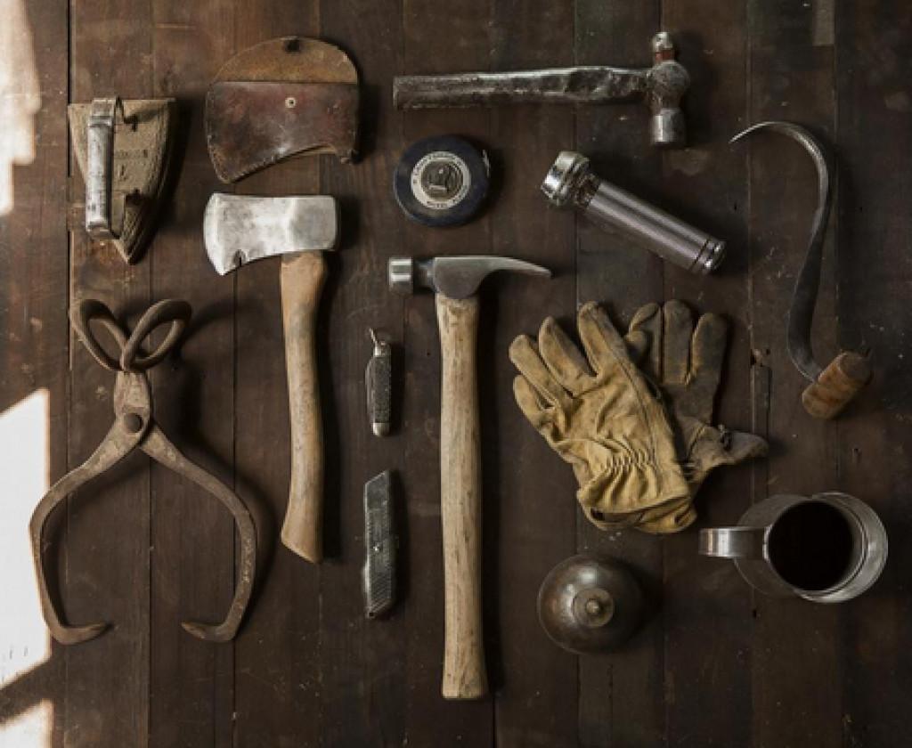 oldschool værktøj