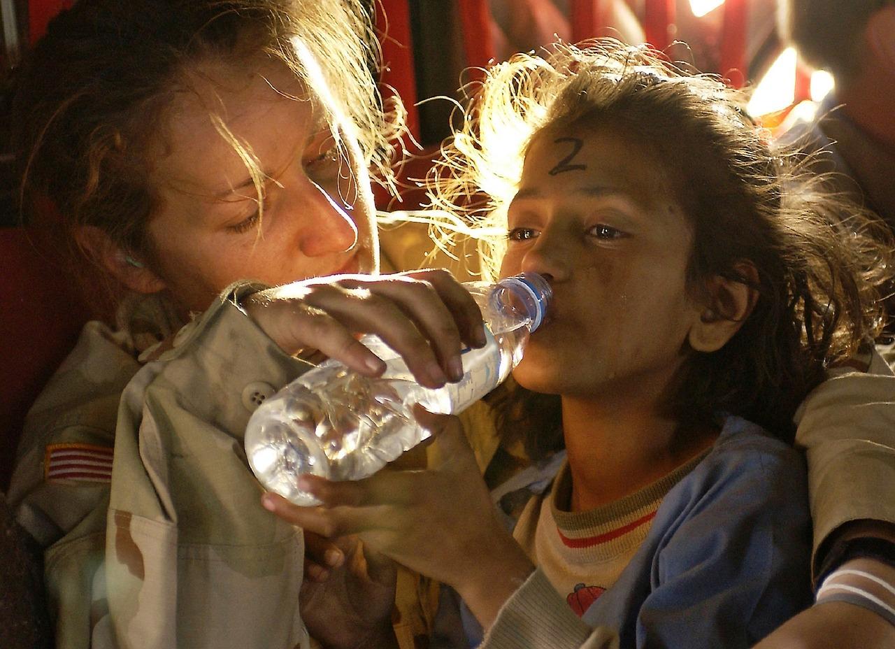 humanitær hjælp